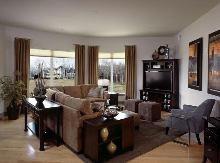 Briarcliff Condo Living Room After