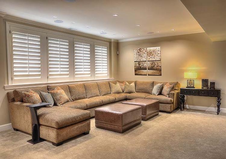 Kansas City Basement Interior Design Specialist Design Connection Inc