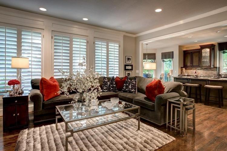Leawood Great Room Interior Design Design Connection Inc