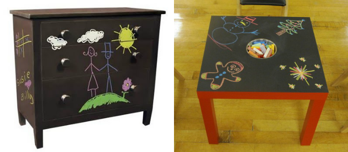 Chalkboard-Paint-Kids-Furniture-Design-Connection-Inc-Kansas-City-Interior-Design