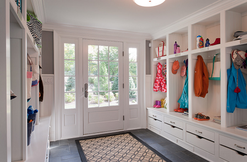 The dirt stops here creating your ideal mud room for Mudroom layout