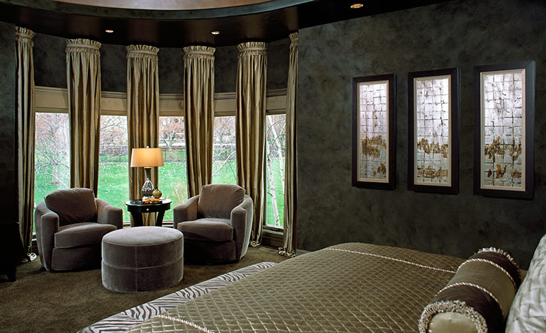 Glamorous Leawood Master Bedroom Remodel   After