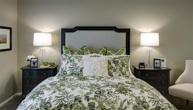Leawood Guest Bedroom Interior Design - After