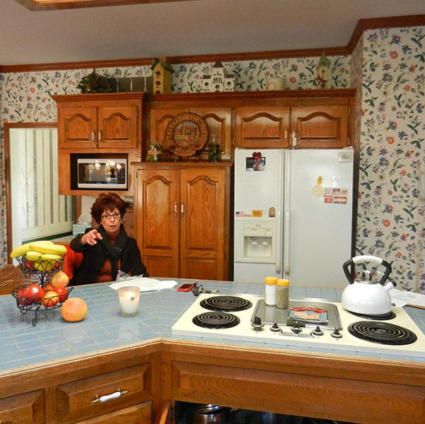 Leawood, KS Kitchen Remodel - Before