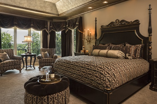 chocolate lover 39 s dream a delicious master bedroom by design connection inc. Black Bedroom Furniture Sets. Home Design Ideas