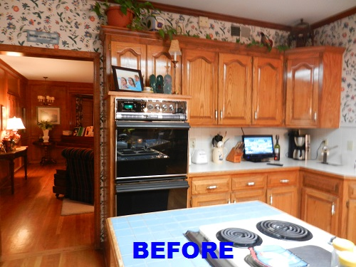 If These Walls Could Talk: Before & After Kansas City Kitchen Remodel