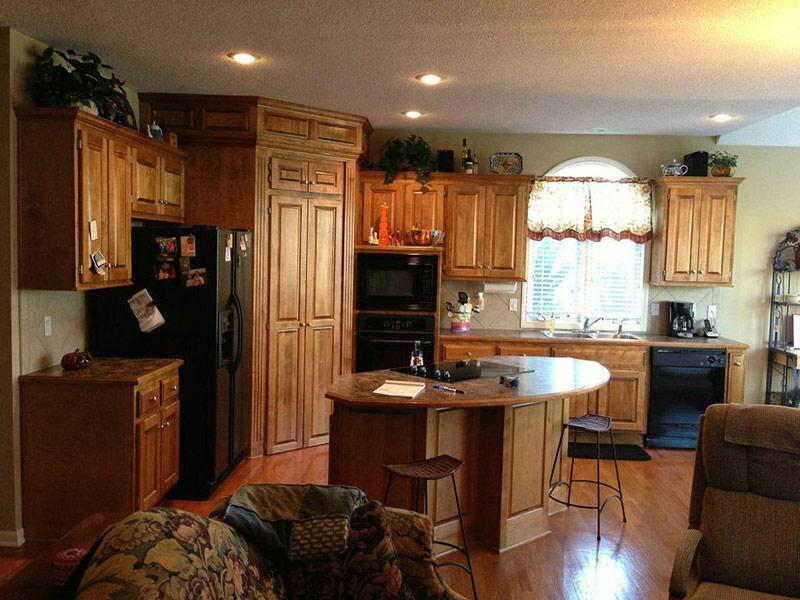 Overland Park Kitchen - Before
