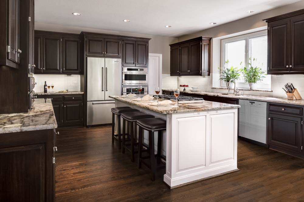 Kitchen Design Kansas City kitchen before and after transformation – a design connection, inc