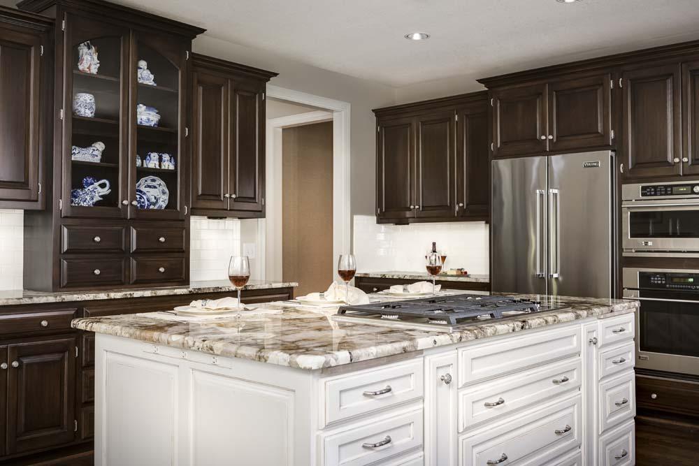 After Kitchen Island Design Connection Inc Kansas City Interior Designer