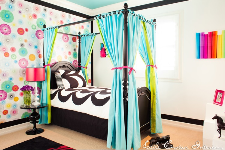... Parties & Storage: How to Give Your Teenage Girl the Best Bedroom Ever