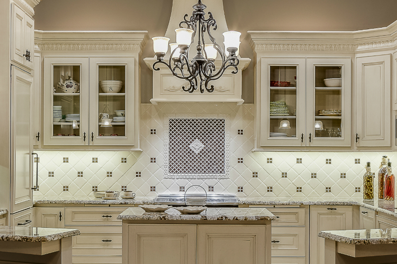 Tuscan Style Kitchen Backsplash