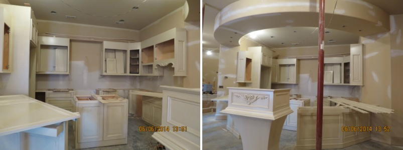 Tuscan style lower level kitchen a design connection inc featured project for Kansas city interior designers