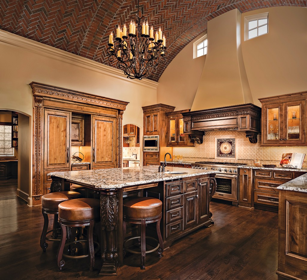 Kitchen Plans By Design: Kansas City Kitchen With A Taste Of Tuscany: A Design