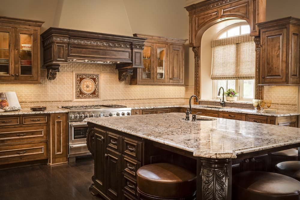 Tuscan Kitchen Design Connection Inc Kansas City Interior
