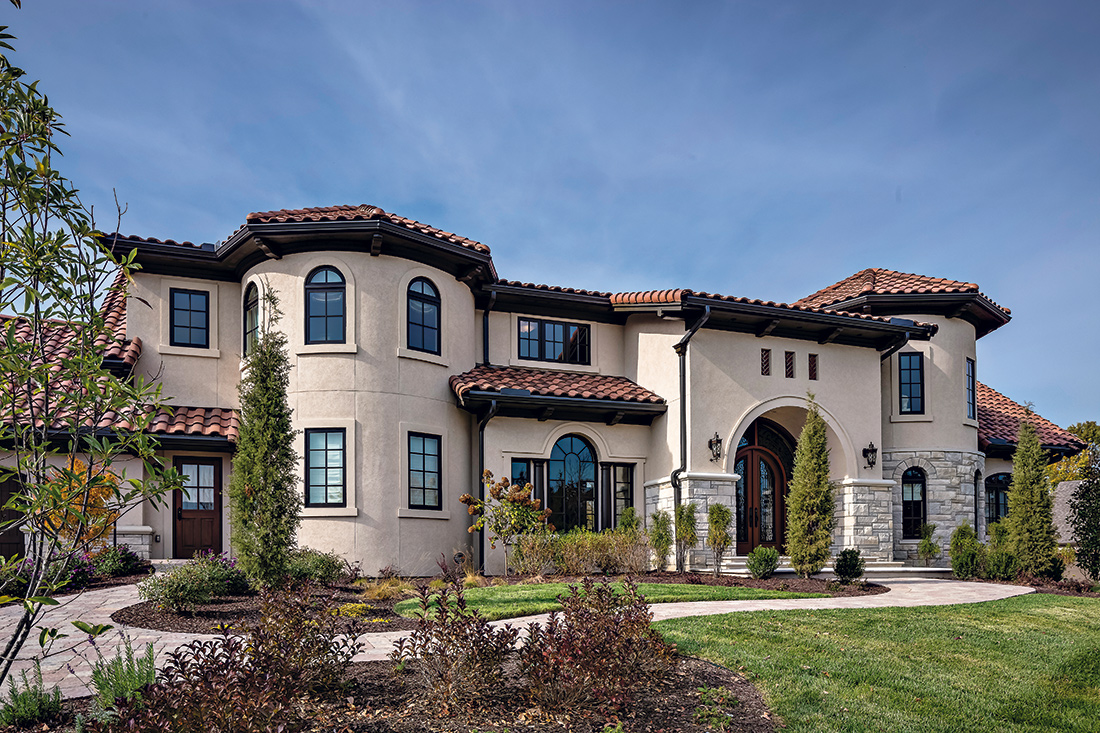 Tuscan Home Design Exterior