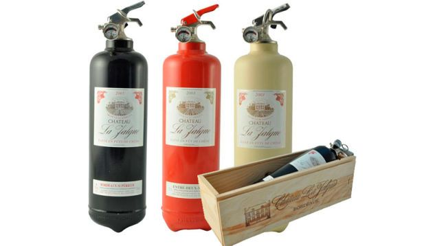 Fire Design Wine Bottle Fire Extinguishers Design Connection Inc Kansas City Interior Design Blog