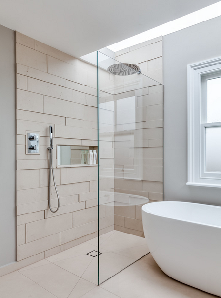 Dimensional Shower Tiles Kansas City Interior Design Blog