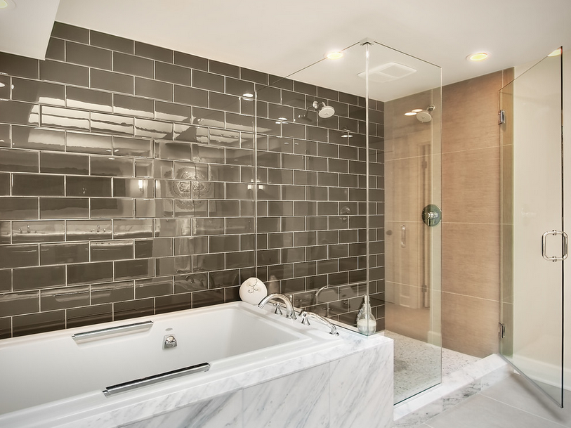 Predicting 2016 interior design trends year of the tile for Latest trends in bathrooms