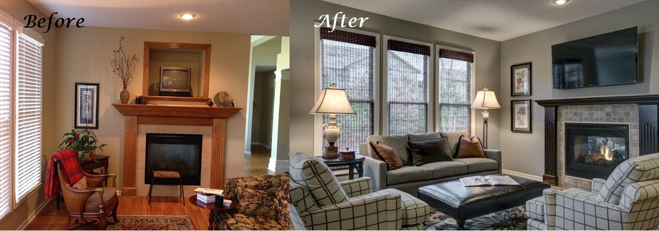 Fireplace Before & After Transformations: From Our Design Portfolio