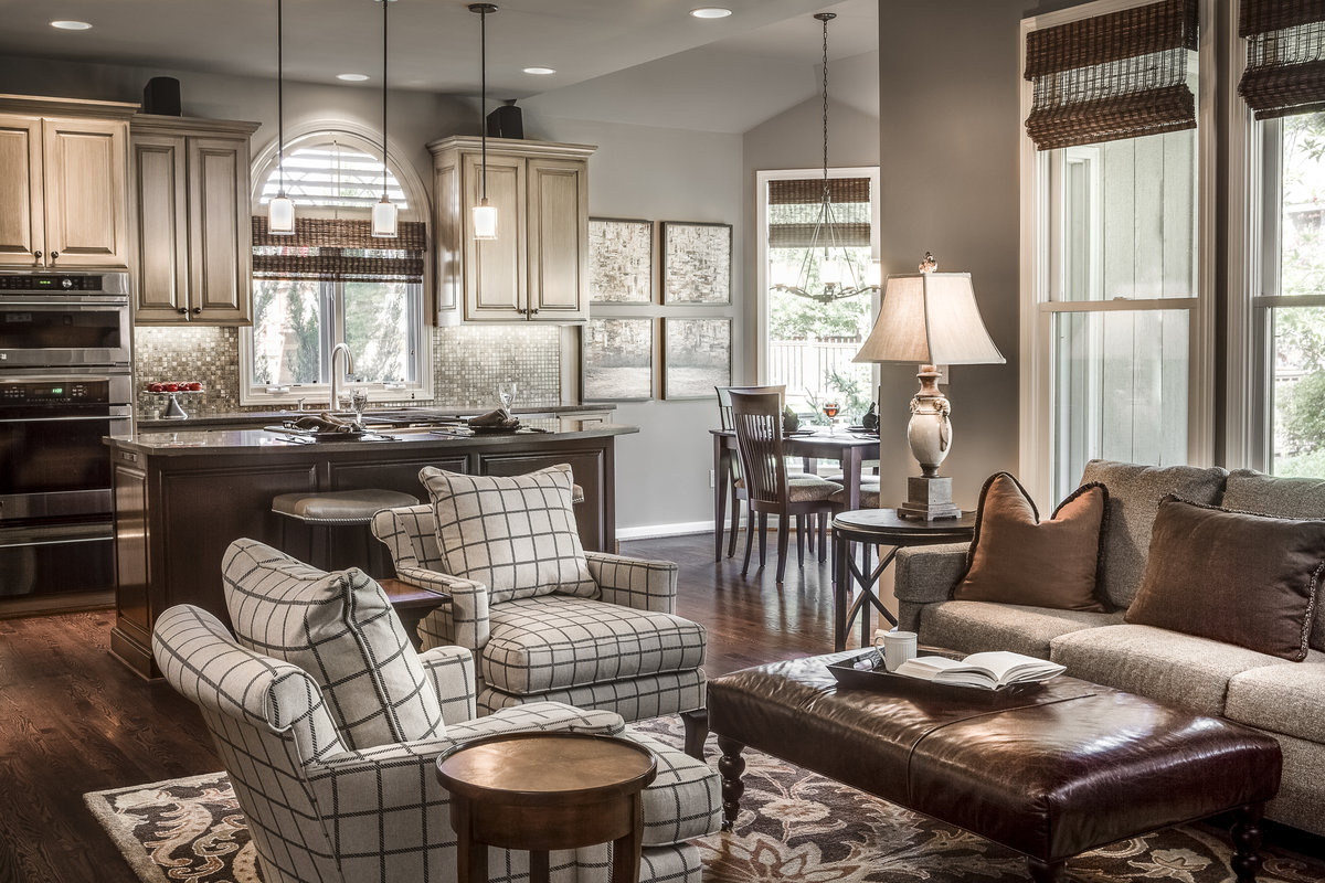 Leawood Lifestyle Magazine Features Our Project A Touch Of Classic Elegance