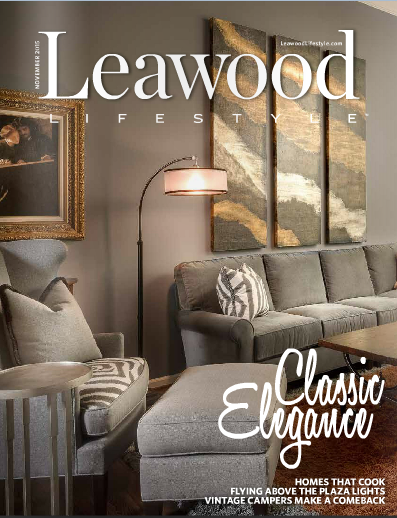 Leawood Lifestyle November 2015 Cover Design Connection Inc Arlene Ladegaard