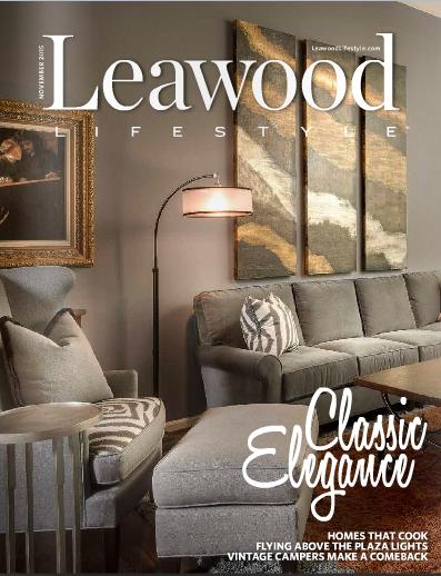 Leawood Lifestyle November 2015 Cover Design Connection Inc Arlene Ladegaard
