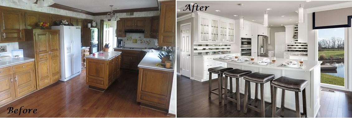 Before And After Kitchen Remodel Kansas City Interior Designer Arlene  Ladegaard Design Connection Inc