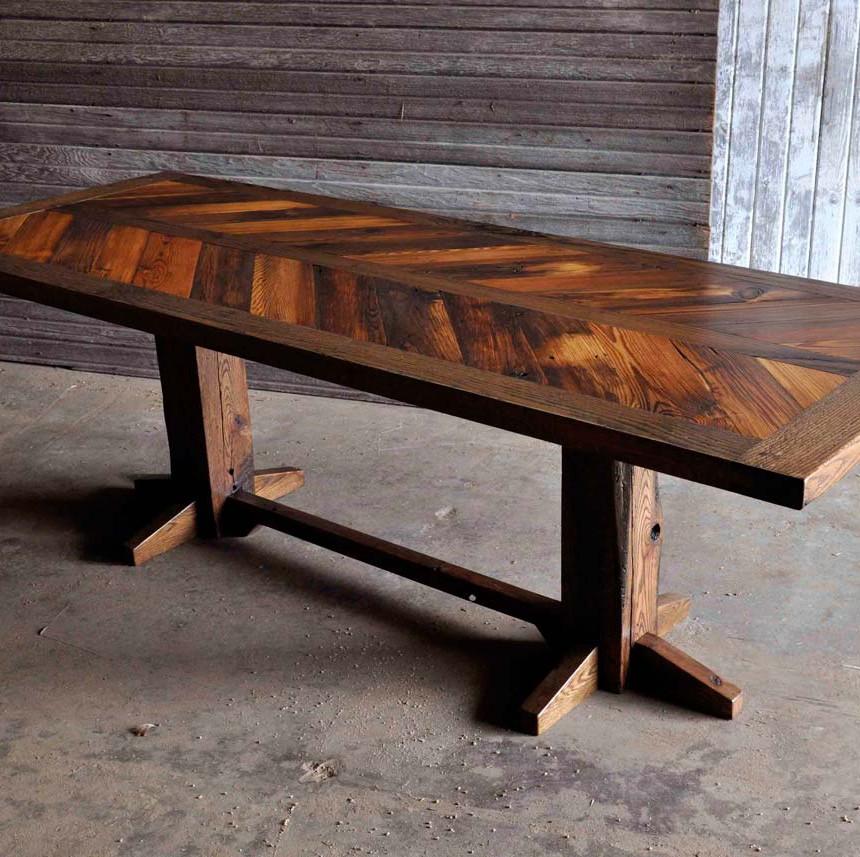 Dining Table Rustic Grain 2016 Interior Design Trends Kansas City