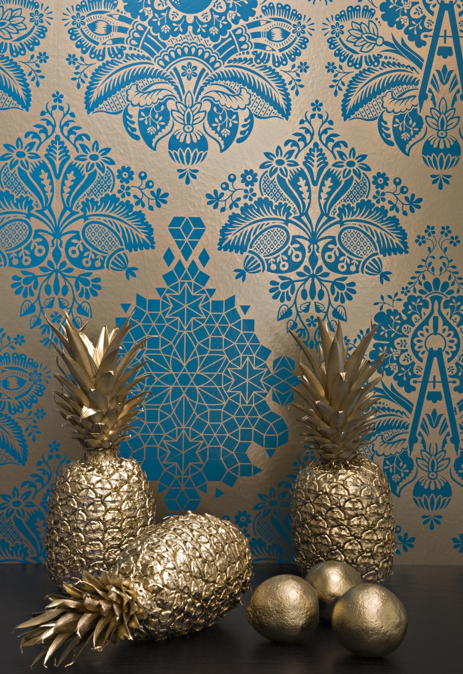 Flavor Paper Metallic large print wallpaper