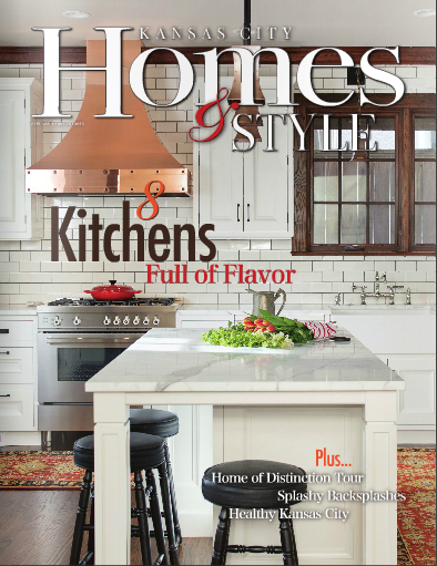 Kansas city homes style features our project kitchens for Modern home design kansas city