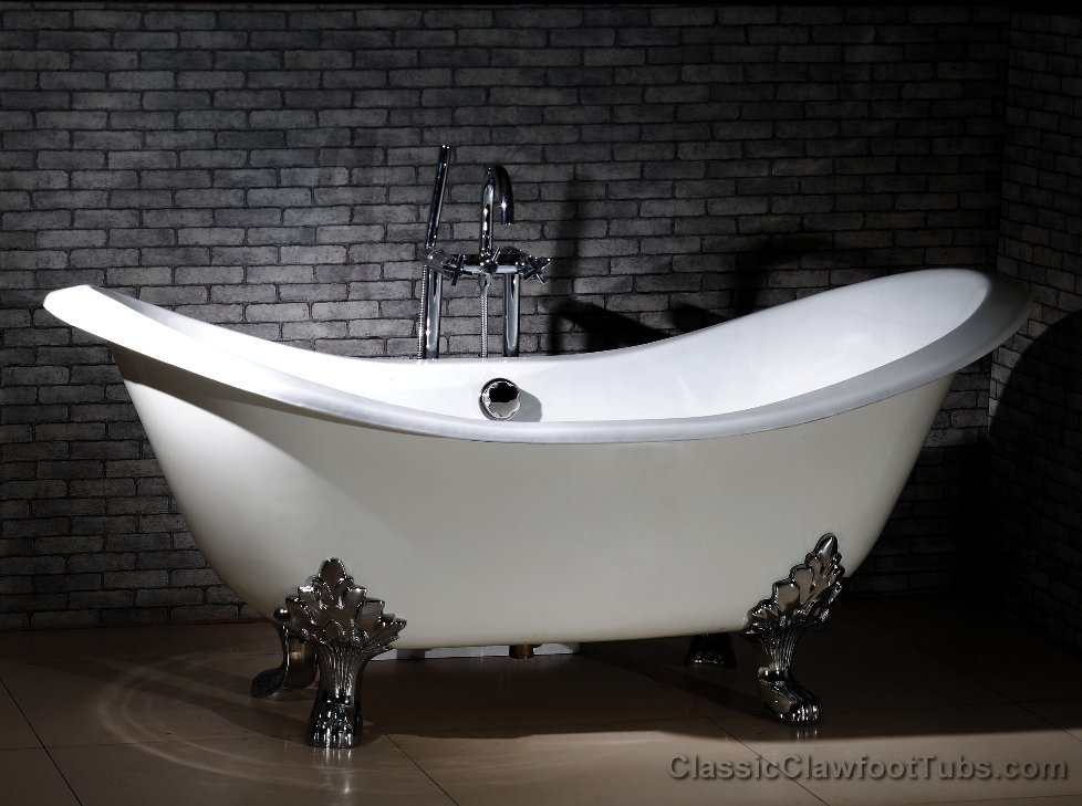 How to choose the perfect bathtub 2016 bathtub trends and for Claw foot soaker tub