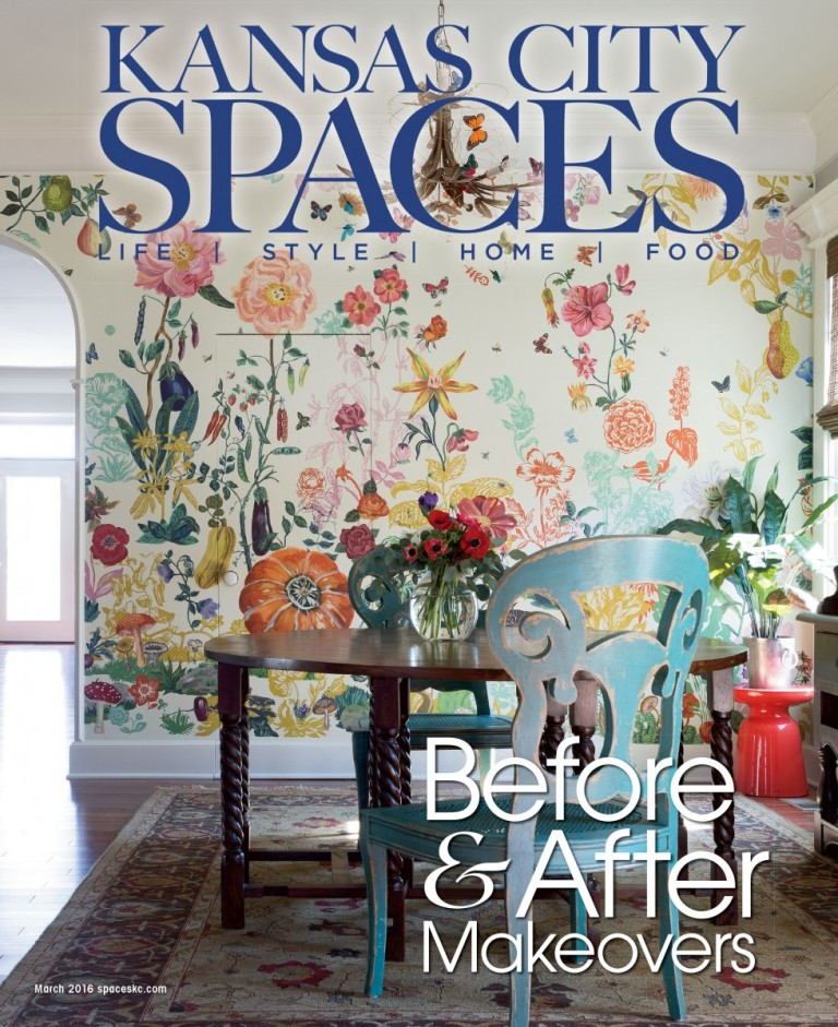 Spaces Kansas City Magazine Features Our Project One More Thing Before After Stacey 2016 Interior Design