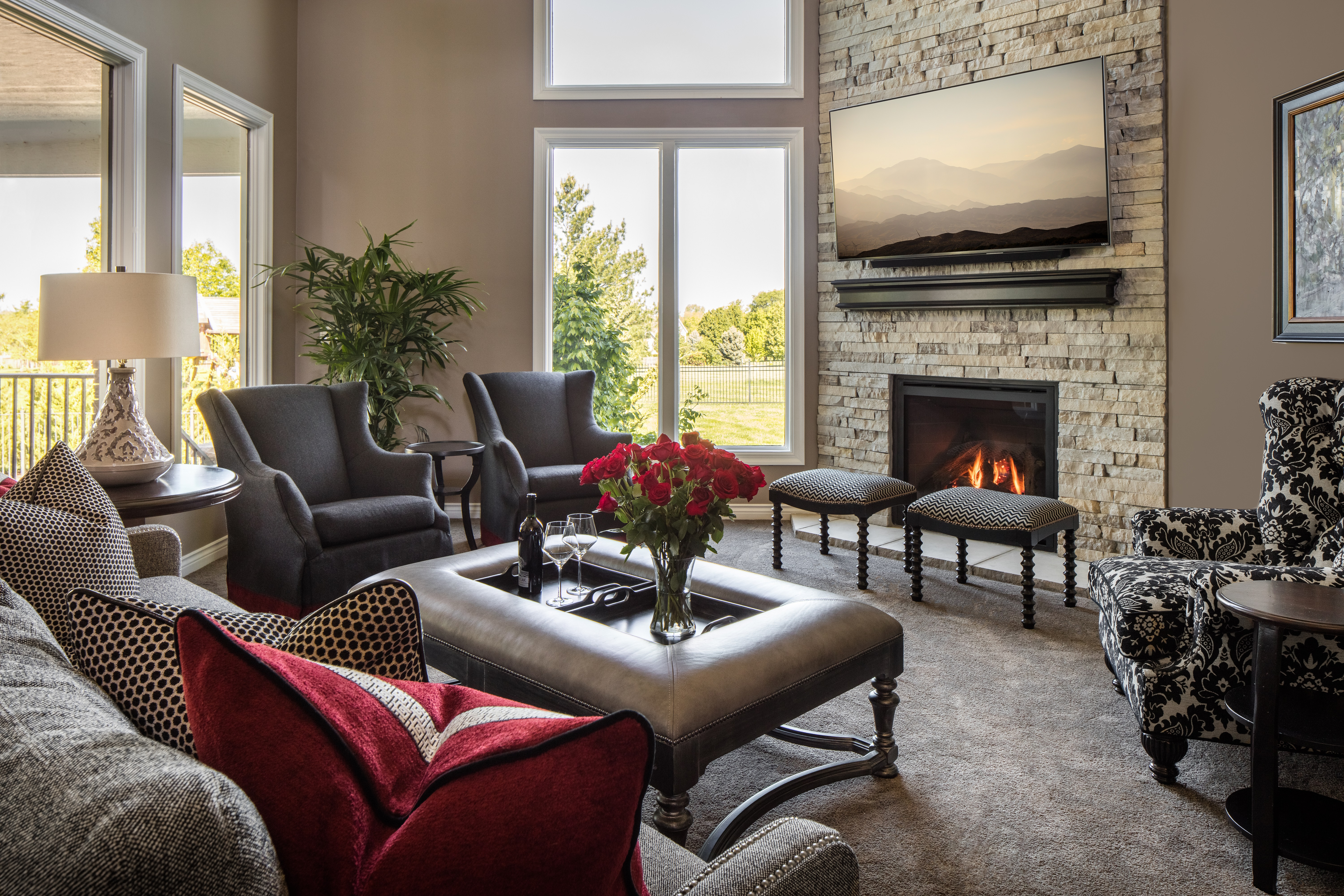 Marvelous From Unused To Enjoyed Great Room Update: A Design Connection, Inc.  Featured Project