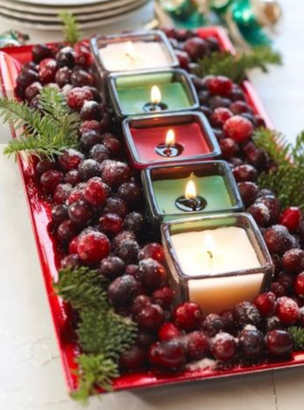 5 minutes to fabulous quick easy christmas tablescape ideas add a charming personalized touch to your holiday feasts with these super simple do it yourself place cards all you need are a few ribbons solutioingenieria Gallery