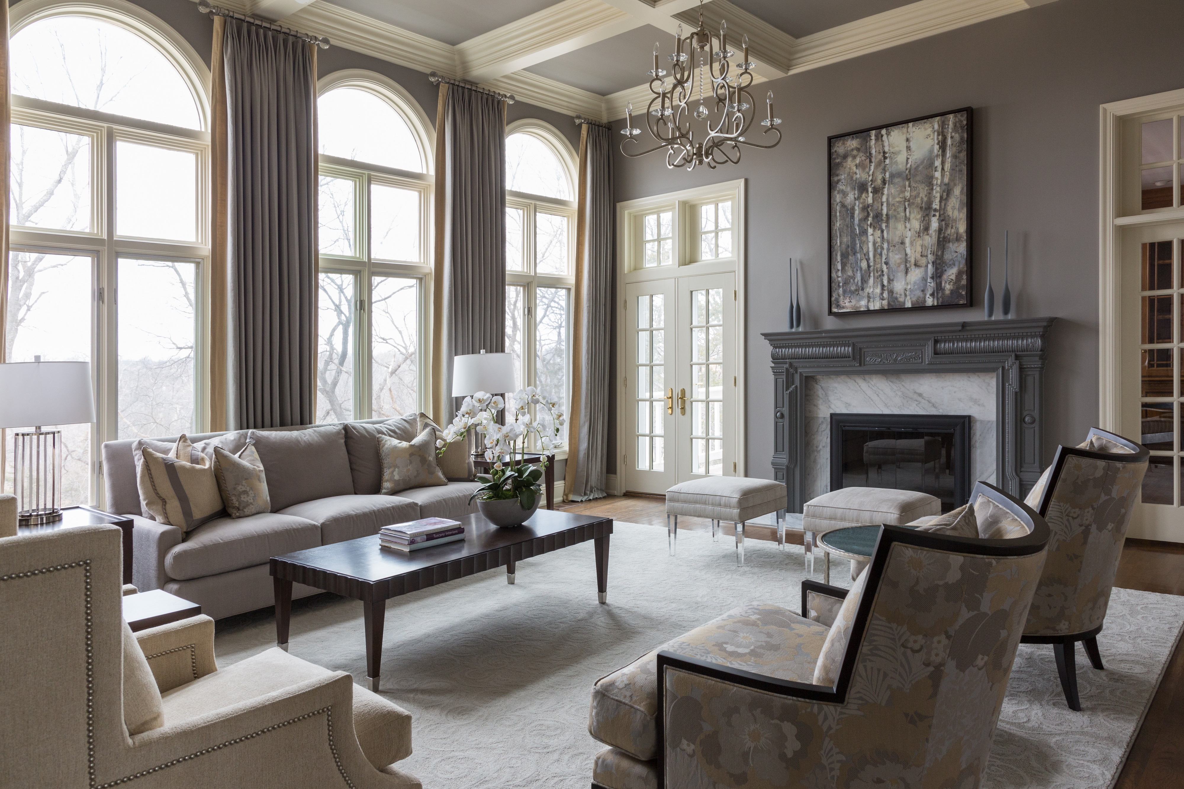 Formal living room update a design connection inc for Latest interior design trends for living rooms