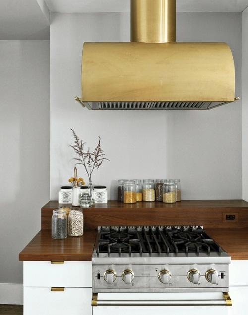 Gold Oven Hood Design Connection Inc Kansas City Interior Design Blog