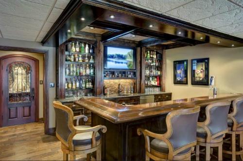 Kansas City Basement Bar Remodel With Interior Design Unique Basement Remodel Kansas City