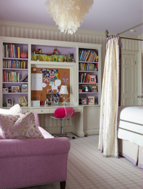 Girls Teen and Tween Bedroom Design Ideas at Design Connection Inc Kansas City Interior Design