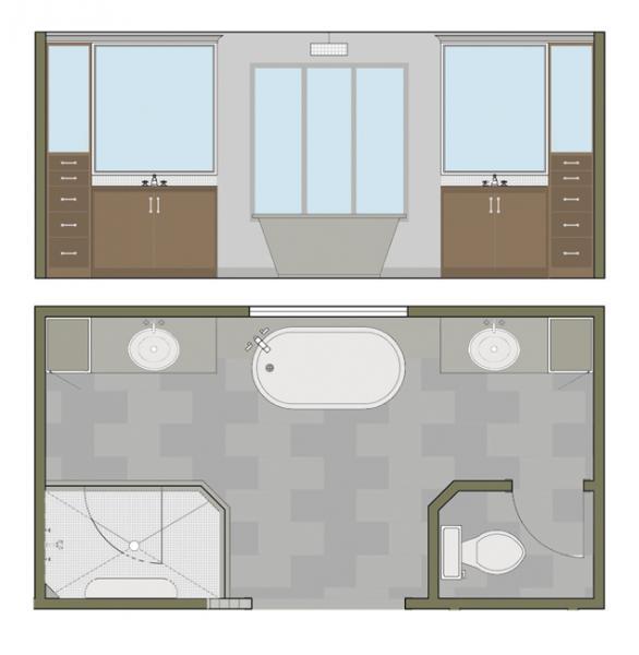 Leawood Interior Design Floor Plan