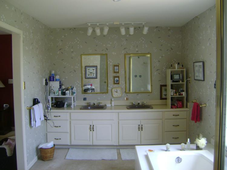 Leawood Bathroom Whole House Remodel - Before