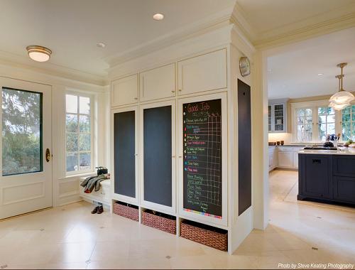 Front Entrance Mudroom Cabinets Design Connection Inc Kansas City Interior Blog