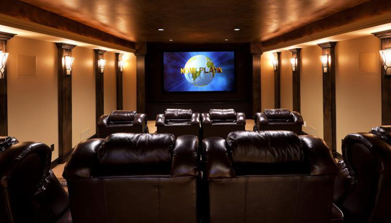 Kearny Home Theater - Whole House Remodel