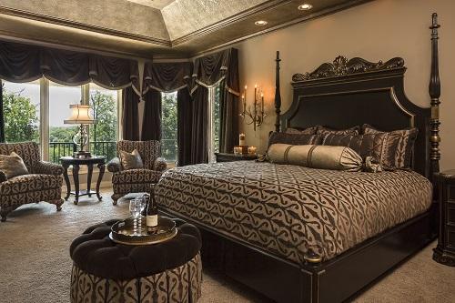 2 Master Bedroom Custom Furniture Design Connection Inc Kansas City Interior Design
