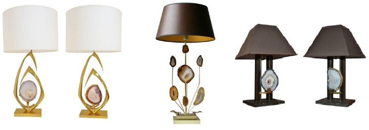 Agate Willy Daro Lamp Collage