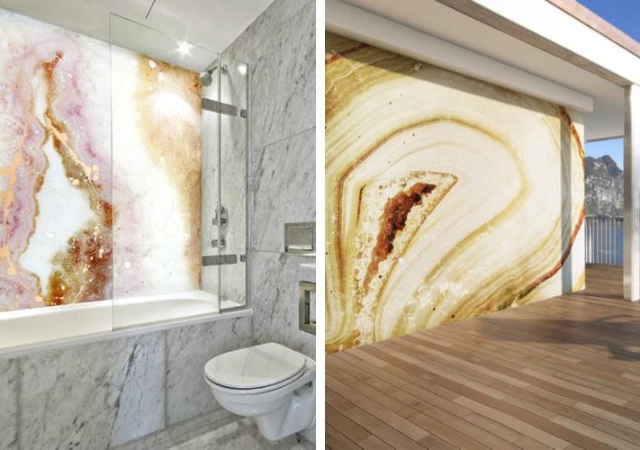 Geode Waterproof Art Panel
