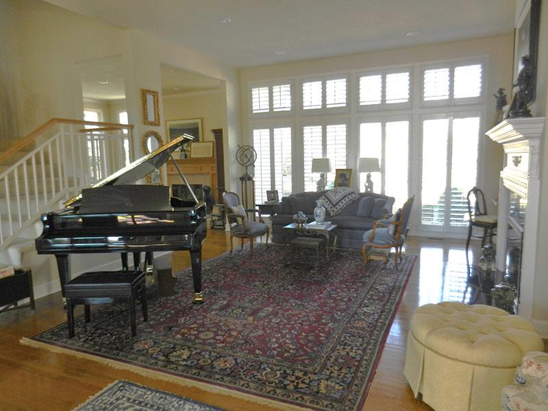 Living Room Remodel in Leawood, KS - After