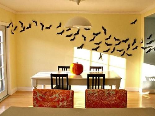 Halloween Wall Bats Design Connection Inc Kansas City Interior Design
