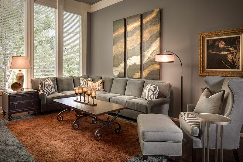 Overland Park Living Room - After