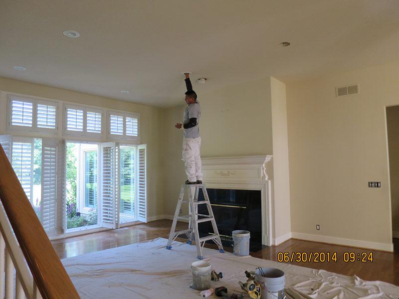 Living Room Remodel in Leawood, KS
