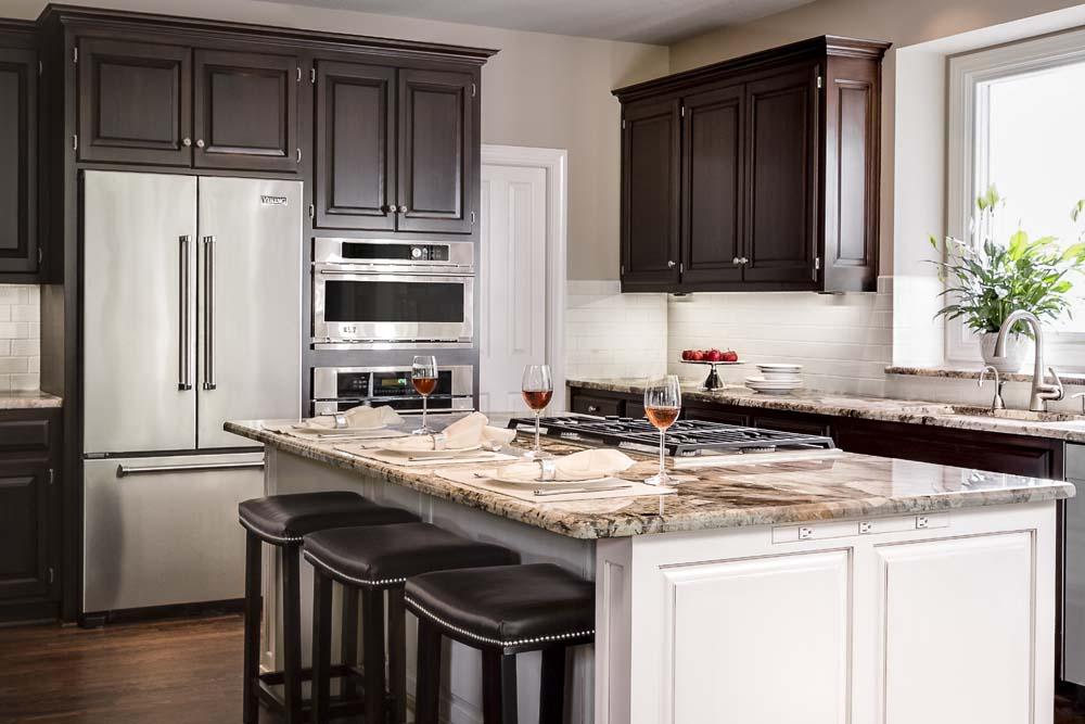 After Kitchen 2 Design Connection Inc Kansas City Interior Designer